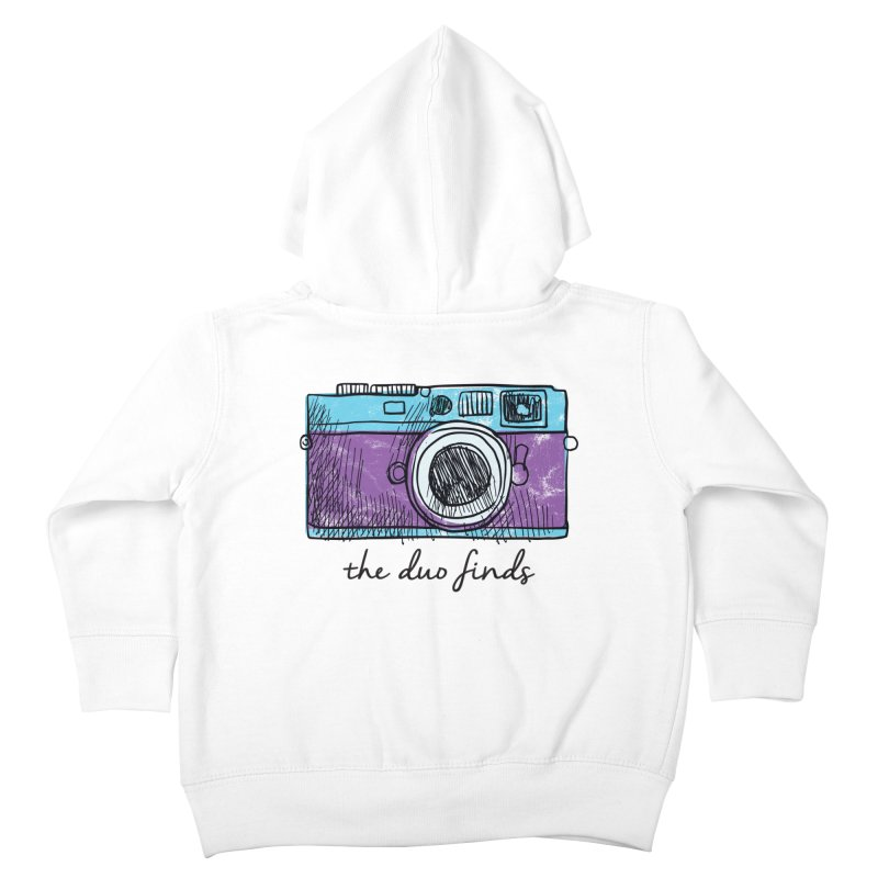 """The Duo Finds """"Camera"""" Logo Kids Toddler Zip-Up Hoody by The Duo Find's Artist Shop"""