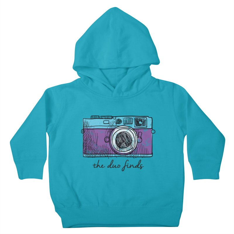 "The Duo Finds ""Camera"" Logo Kids Toddler Pullover Hoody by The Duo Find's Artist Shop"