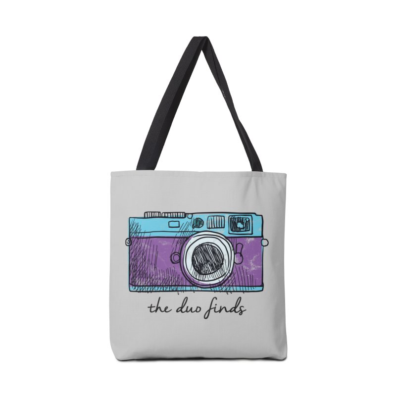 "The Duo Finds ""Camera"" Logo Accessories Tote Bag Bag by The Duo Find's Artist Shop"