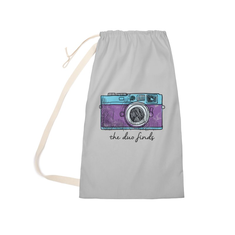 """The Duo Finds """"Camera"""" Logo Accessories Bag by The Duo Find's Artist Shop"""