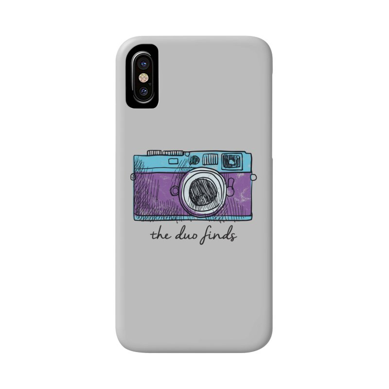 "The Duo Finds ""Camera"" Logo Accessories Phone Case by The Duo Find's Artist Shop"