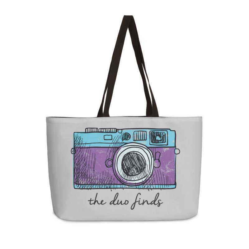 "The Duo Finds ""Camera"" Logo Accessories Bag by The Duo Find's Artist Shop"