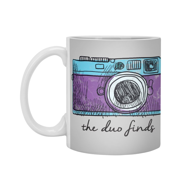 "The Duo Finds ""Camera"" Logo Accessories Standard Mug by The Duo Find's Artist Shop"