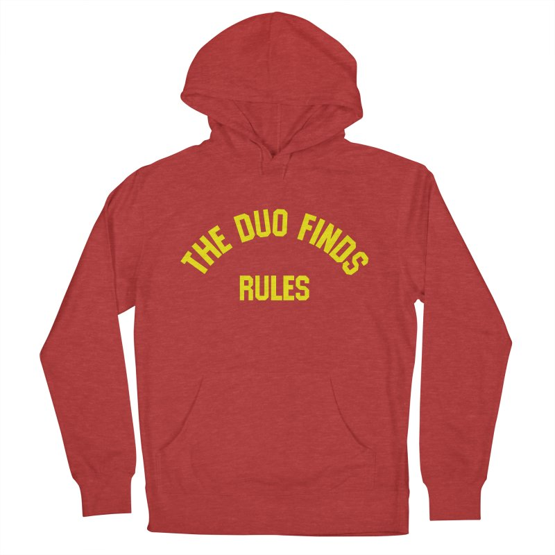 The Duo Finds Rules - Our take on the shirt from Monster Squad! Men's Pullover Hoody by The Duo Find's Artist Shop