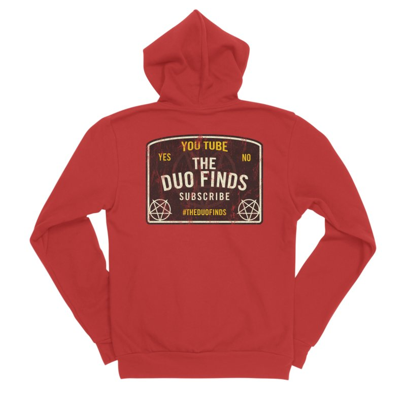 The Duo Finds Ouija Board Women's Zip-Up Hoody by The Duo Find's Artist Shop