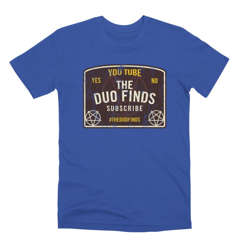 The Duo Finds Ouija Board Men's T-Shirt by The Duo Find's Artist Shop
