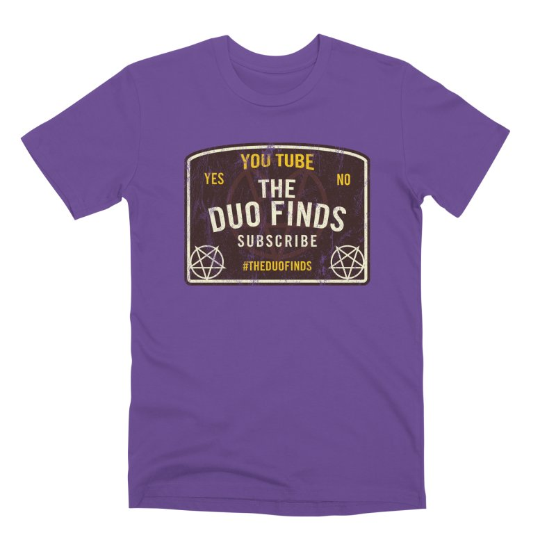 The Duo Finds Ouija Board Men's Premium T-Shirt by The Duo Find's Artist Shop