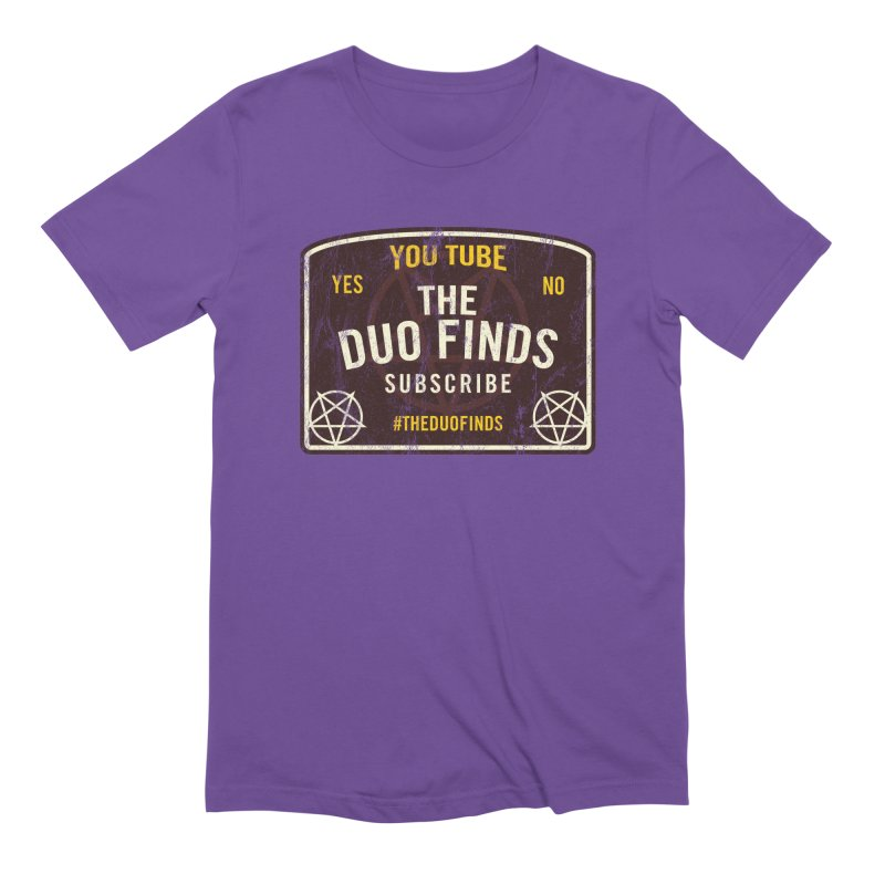 The Duo Finds Ouija Board Men's Extra Soft T-Shirt by The Duo Find's Artist Shop