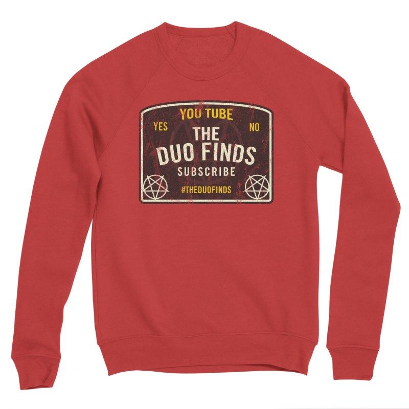 The Duo Finds Ouija Board Men's Sponge Fleece Sweatshirt by The Duo Find's Artist Shop