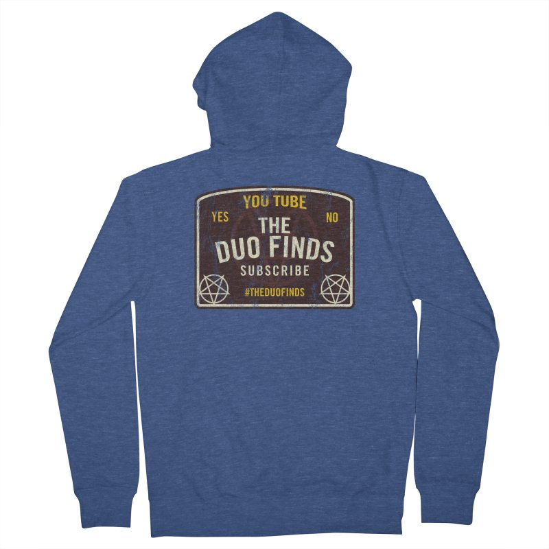 The Duo Finds Ouija Board Men's Zip-Up Hoody by The Duo Find's Artist Shop