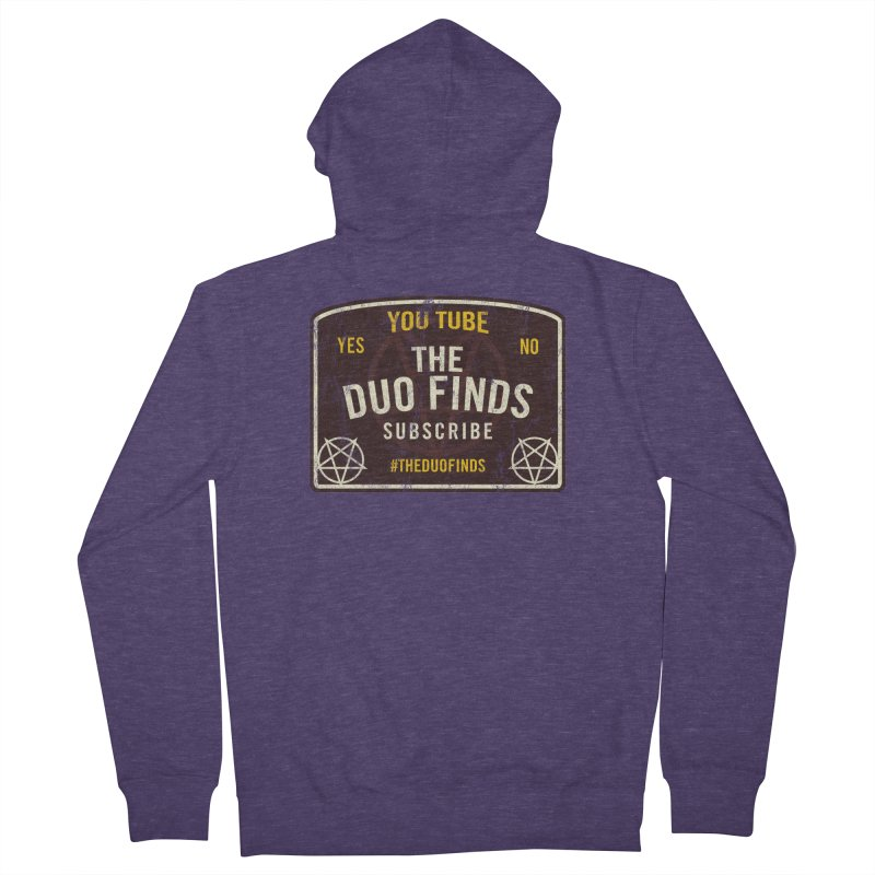 The Duo Finds Ouija Board Men's French Terry Zip-Up Hoody by The Duo Find's Artist Shop