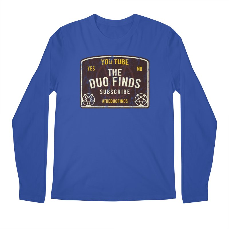 The Duo Finds Ouija Board Men's Regular Longsleeve T-Shirt by The Duo Find's Artist Shop