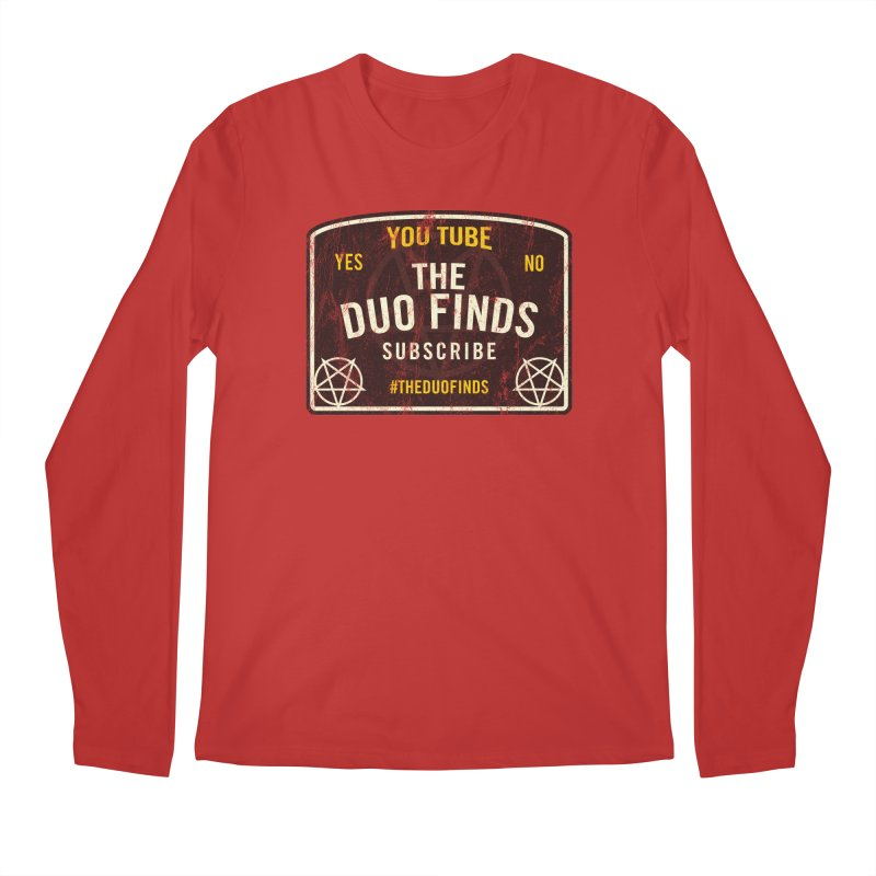 The Duo Finds Ouija Board Men's Regular Longsleeve T-Shirt by The Duo Find's Artist Shop