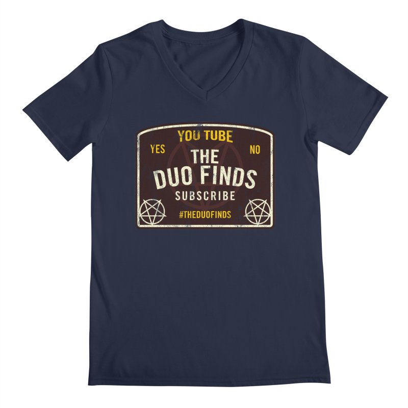 The Duo Finds Ouija Board Men's Regular V-Neck by The Duo Find's Artist Shop