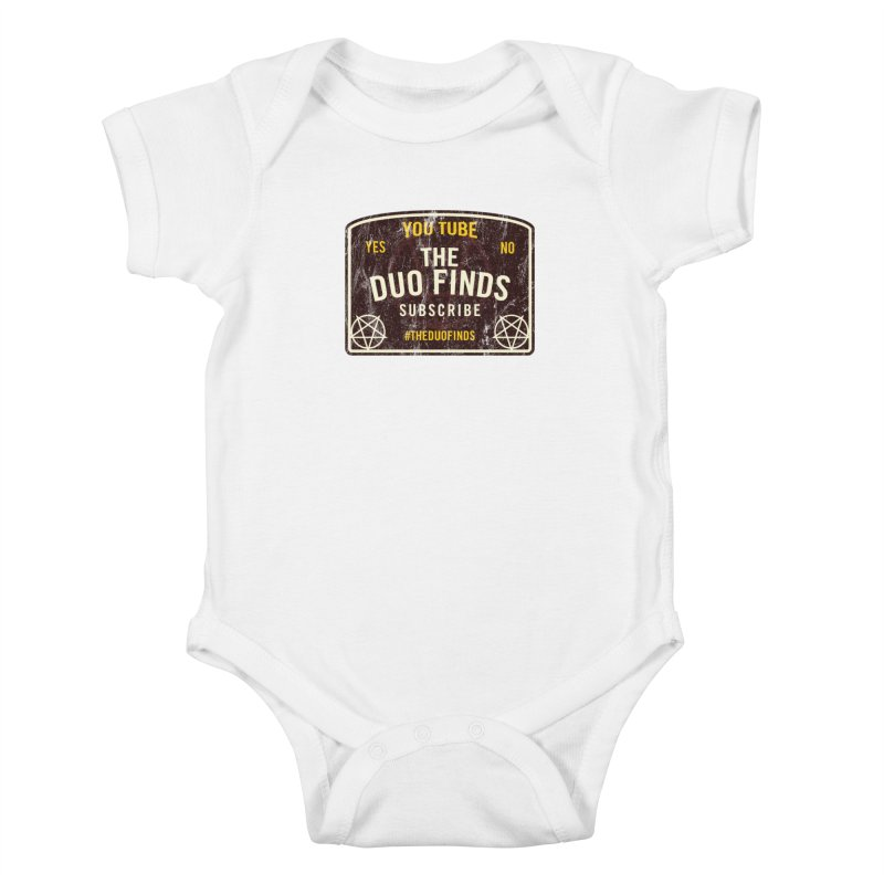 The Duo Finds Ouija Board Kids Baby Bodysuit by The Duo Find's Artist Shop