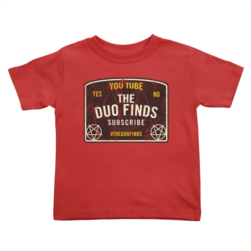 The Duo Finds Ouija Board Kids Toddler T-Shirt by The Duo Find's Artist Shop