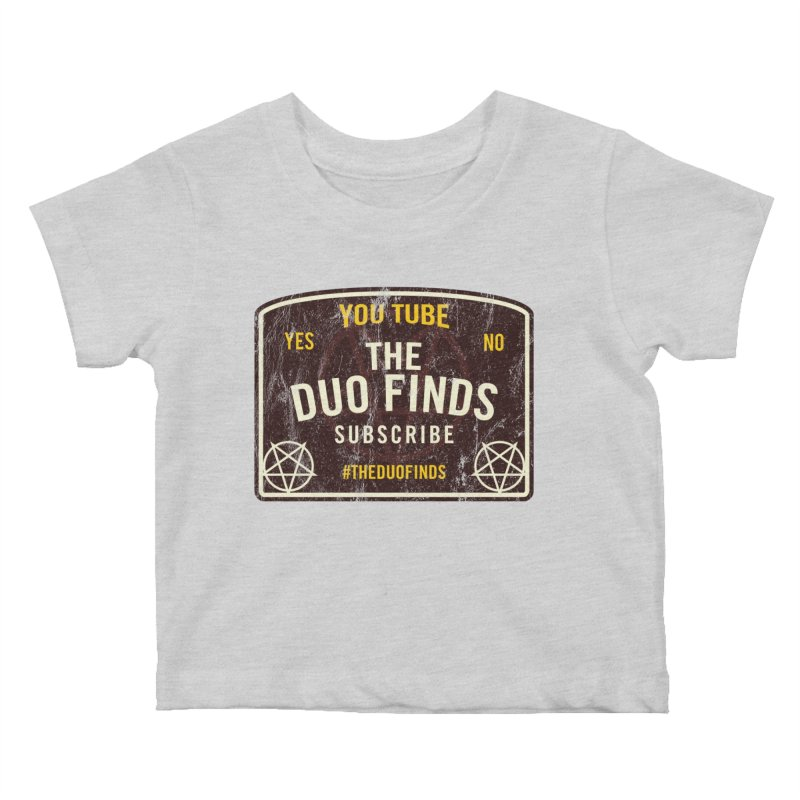 The Duo Finds Ouija Board Kids Baby T-Shirt by The Duo Find's Artist Shop