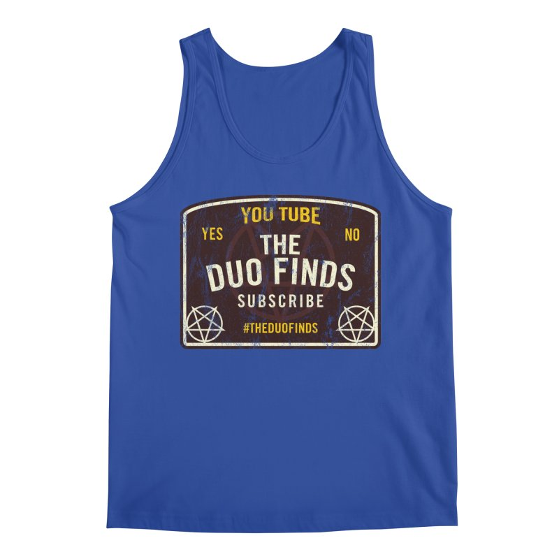 The Duo Finds Ouija Board Men's Tank by The Duo Find's Artist Shop