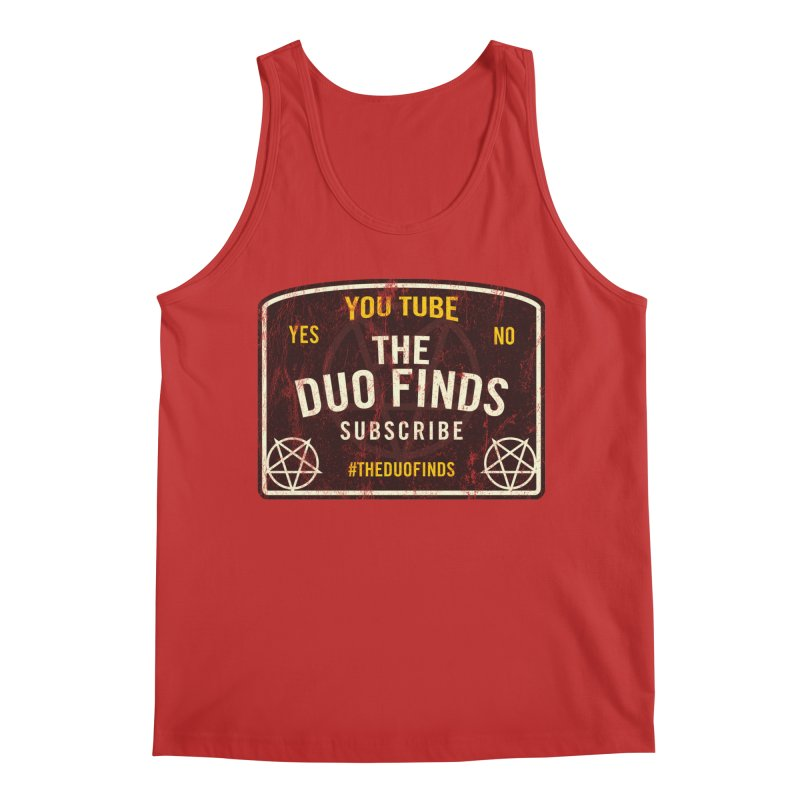 The Duo Finds Ouija Board Men's Regular Tank by The Duo Find's Artist Shop