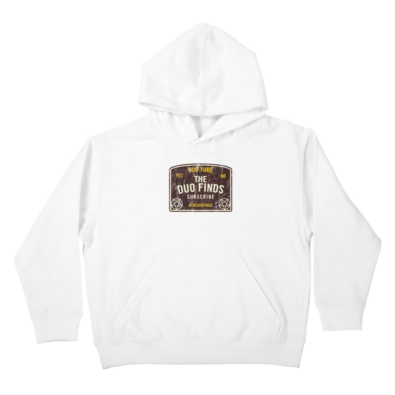 The Duo Finds Ouija Board Kids Pullover Hoody by The Duo Find's Artist Shop