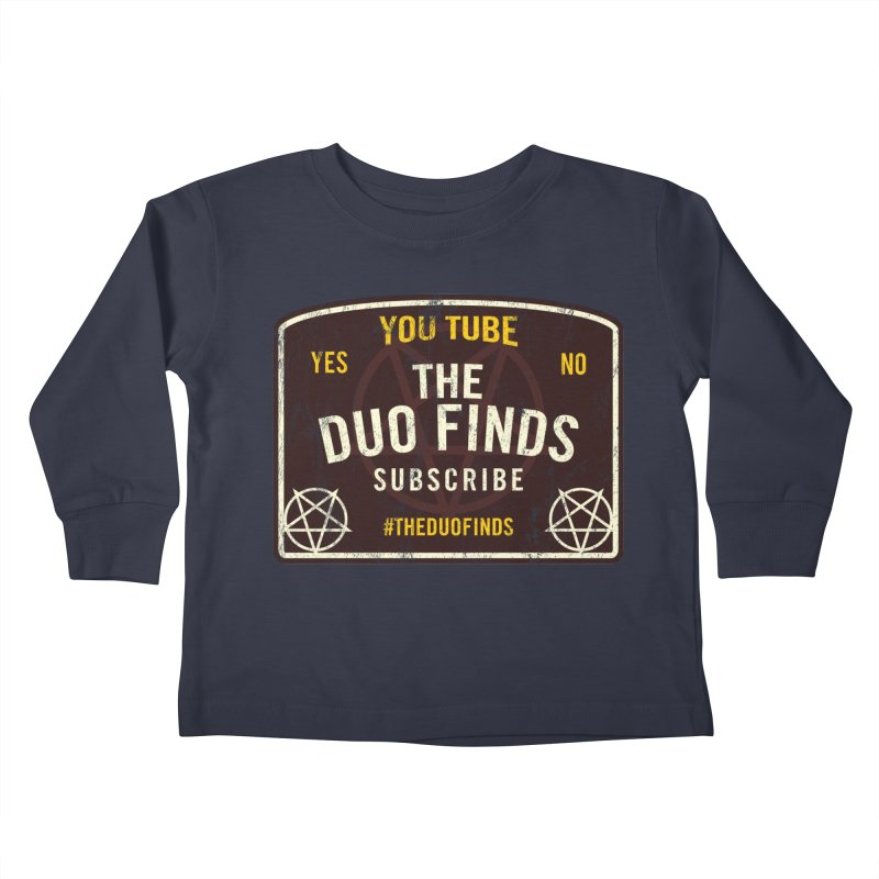 The Duo Finds Ouija Board Kids Toddler Longsleeve T-Shirt by The Duo Find's Artist Shop