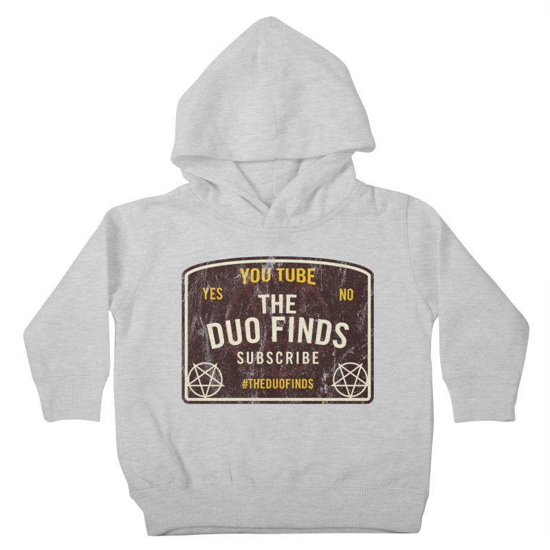 The Duo Finds Ouija Board Kids Toddler Pullover Hoody by The Duo Find's Artist Shop