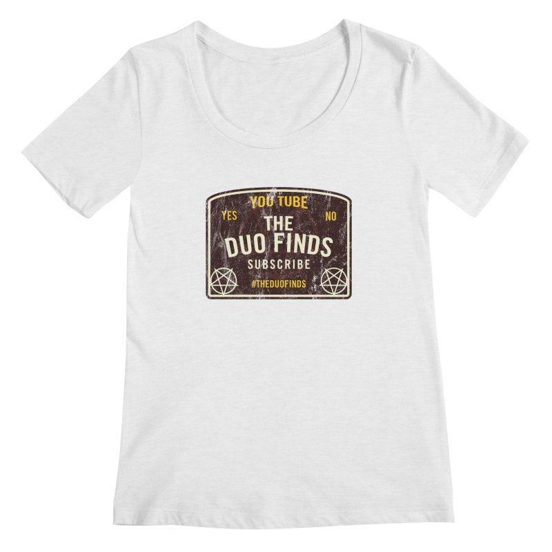 The Duo Finds Ouija Board Women's Scoop Neck by The Duo Find's Artist Shop