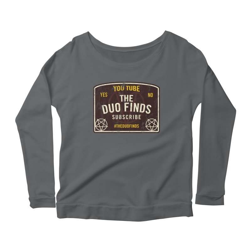The Duo Finds Ouija Board Women's Longsleeve T-Shirt by The Duo Find's Artist Shop
