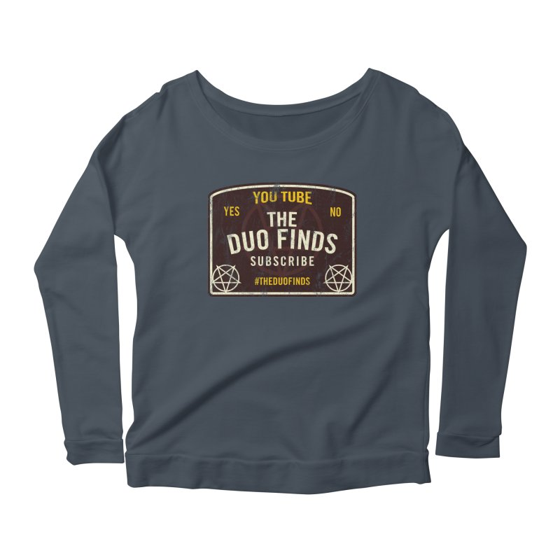 The Duo Finds Ouija Board Women's Scoop Neck Longsleeve T-Shirt by The Duo Find's Artist Shop