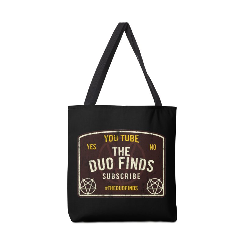 The Duo Finds Ouija Board Accessories Tote Bag Bag by The Duo Find's Artist Shop
