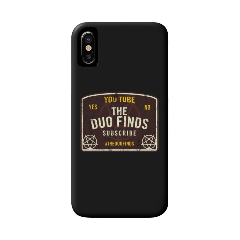 The Duo Finds Ouija Board Accessories Phone Case by The Duo Find's Artist Shop