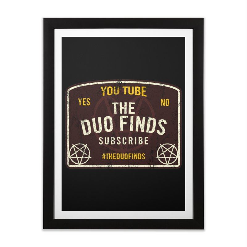 The Duo Finds Ouija Board Home Framed Fine Art Print by The Duo Find's Artist Shop