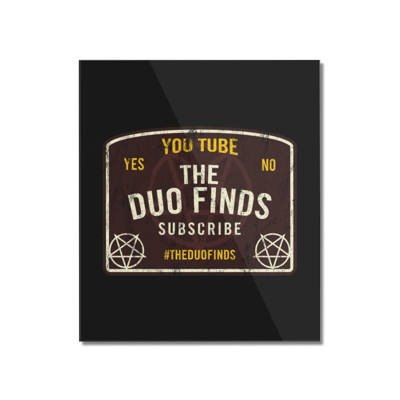 The Duo Finds Ouija Board Home Mounted Acrylic Print by The Duo Find's Artist Shop