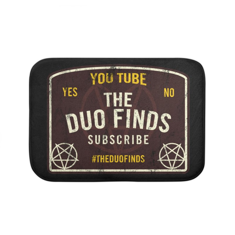 The Duo Finds Ouija Board Home Bath Mat by The Duo Find's Artist Shop