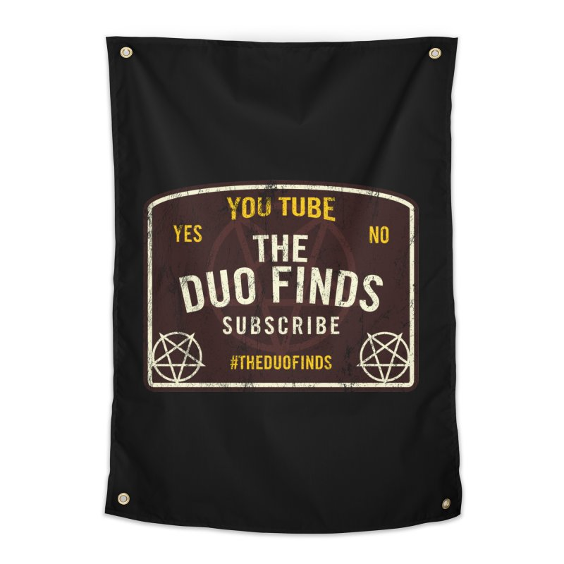 The Duo Finds Ouija Board Home Tapestry by The Duo Find's Artist Shop