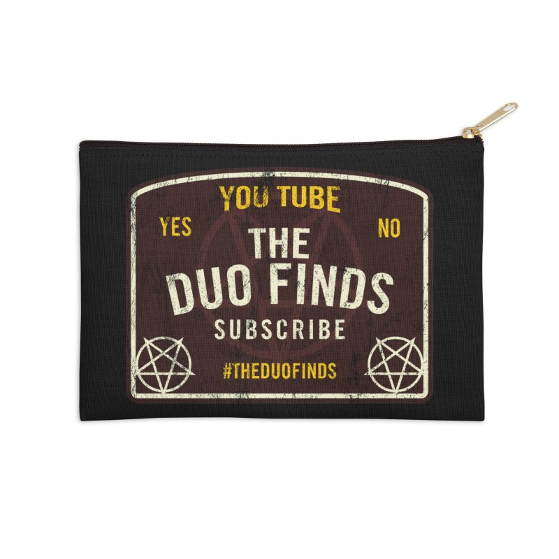 The Duo Finds Ouija Board Accessories Zip Pouch by The Duo Find's Artist Shop
