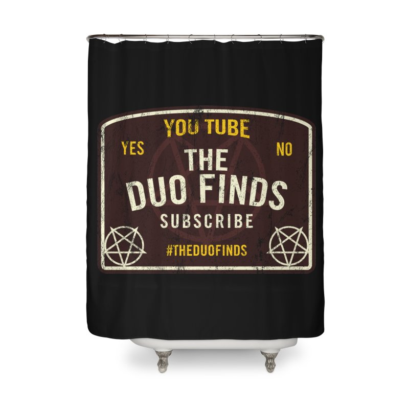 The Duo Finds Ouija Board Home Shower Curtain by The Duo Find's Artist Shop