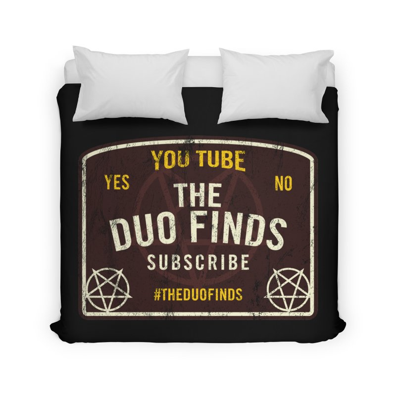 The Duo Finds Ouija Board Home Duvet by The Duo Find's Artist Shop