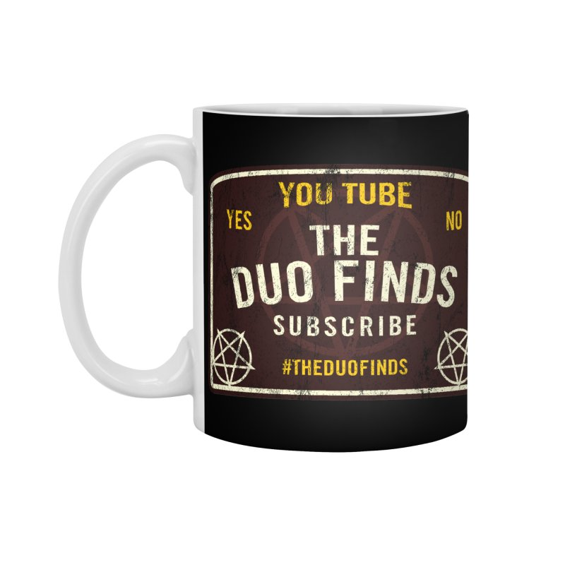 The Duo Finds Ouija Board Accessories Standard Mug by The Duo Find's Artist Shop