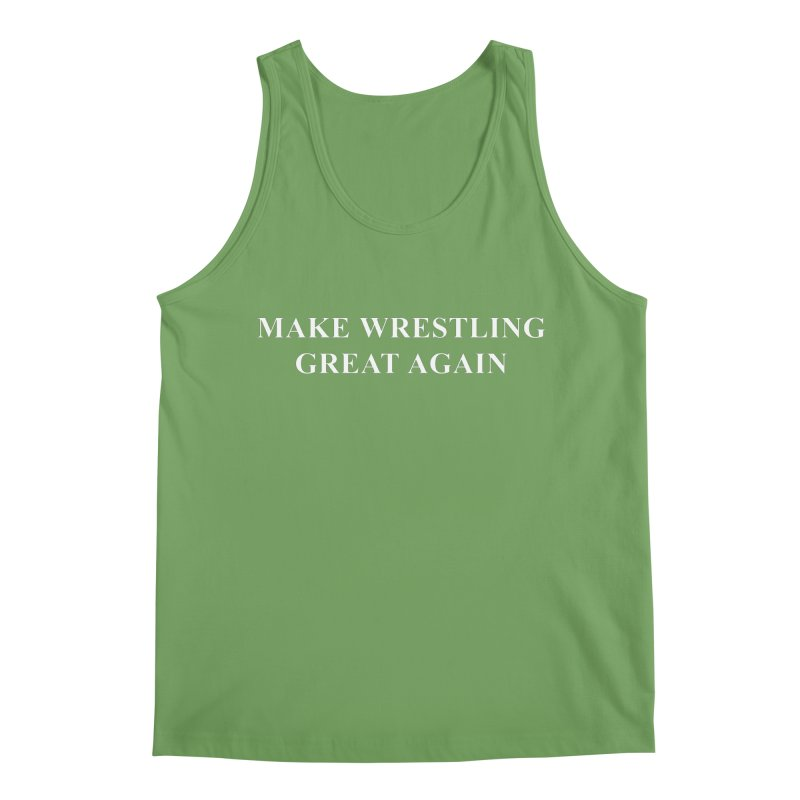 Make Wrestling Great Again (The Duo Finds MAGA parody) Men's Tank by The Duo Find's Artist Shop