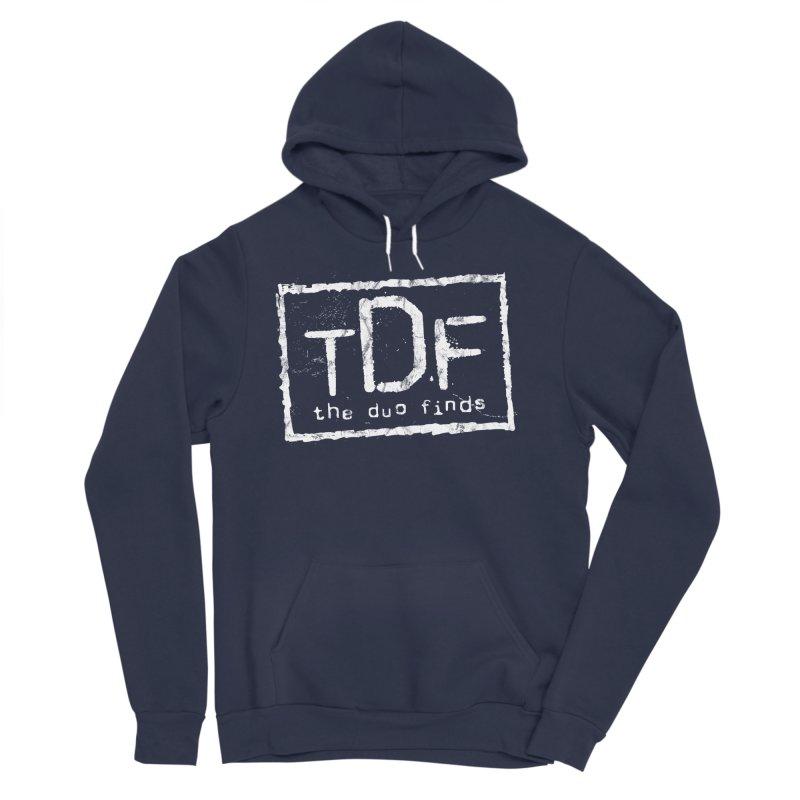TDF for Life. Spoof. Get it? Men's Sponge Fleece Pullover Hoody by The Duo Find's Artist Shop