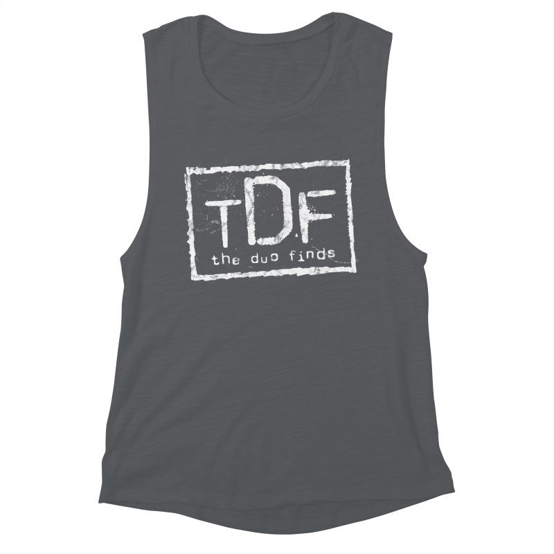 TDF for Life. Spoof. Get it? Women's Muscle Tank by The Duo Find's Artist Shop