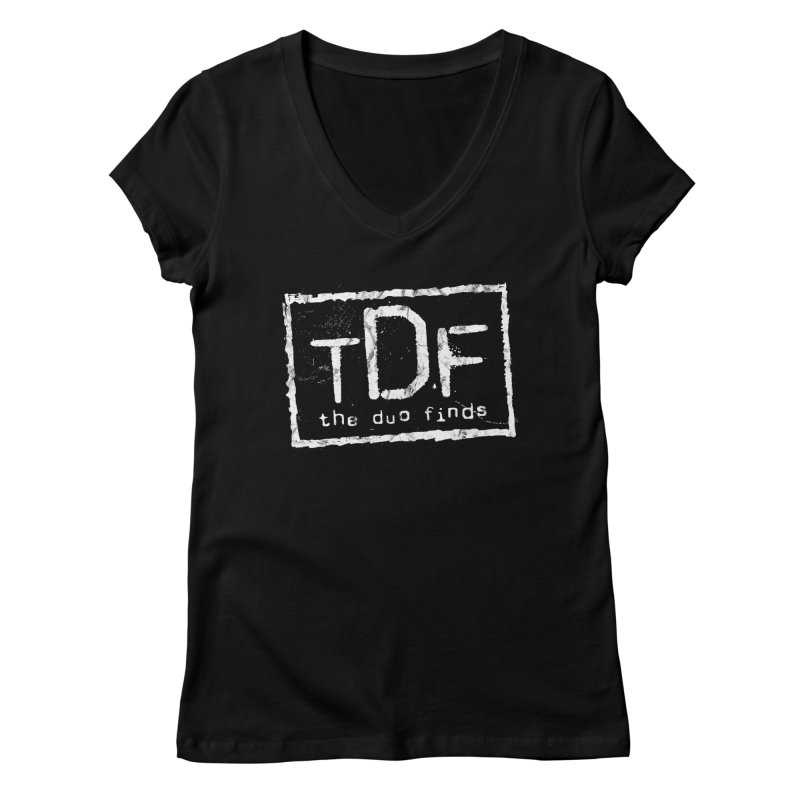 TDF for Life. Spoof. Get it? Women's V-Neck by The Duo Find's Artist Shop