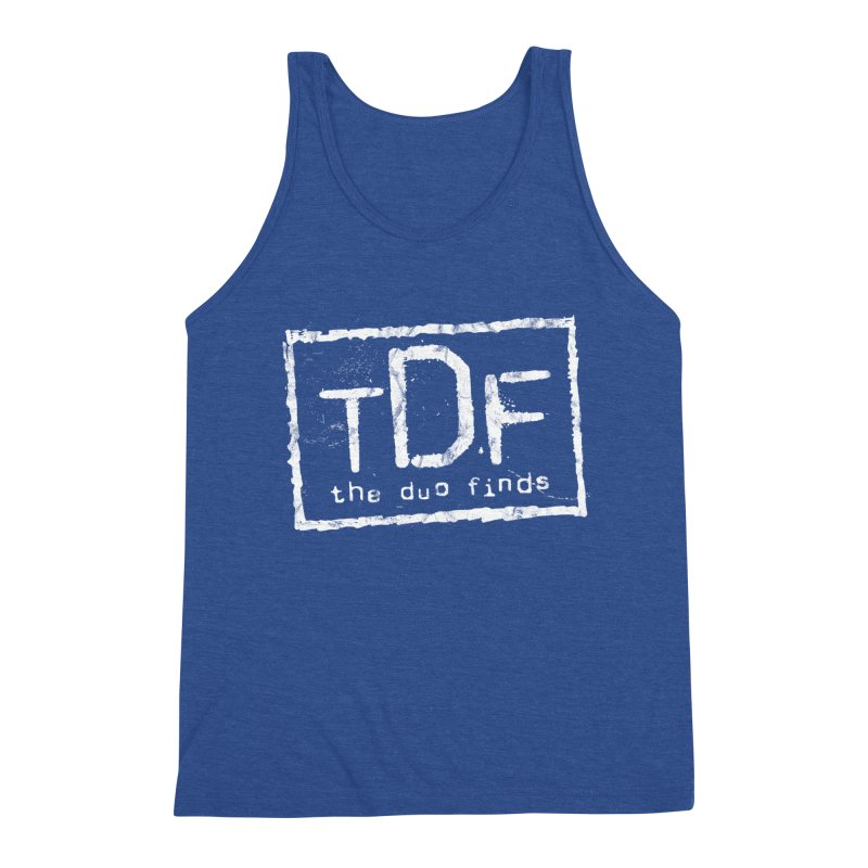 TDF for Life. Spoof. Get it? Men's Tank by The Duo Find's Artist Shop