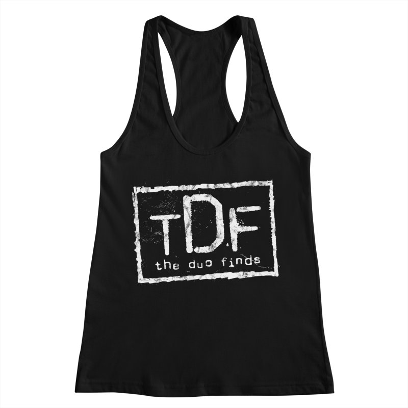 TDF for Life. Spoof. Get it? Women's Racerback Tank by The Duo Find's Artist Shop