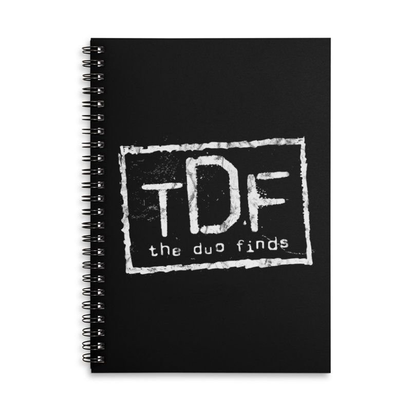 TDF for Life. Spoof. Get it? Accessories Lined Spiral Notebook by The Duo Find's Artist Shop