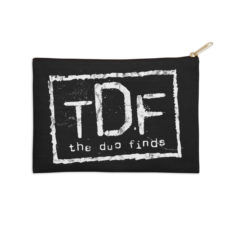 TDF for Life. Spoof. Get it? Accessories Zip Pouch by The Duo Find's Artist Shop