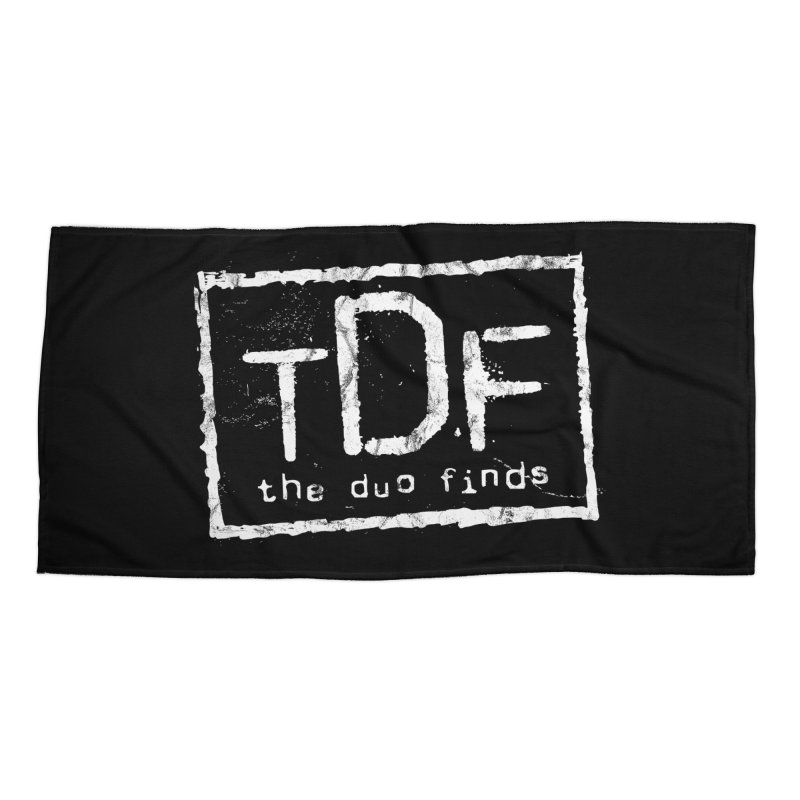 TDF for Life. Spoof. Get it? Accessories Beach Towel by The Duo Find's Artist Shop