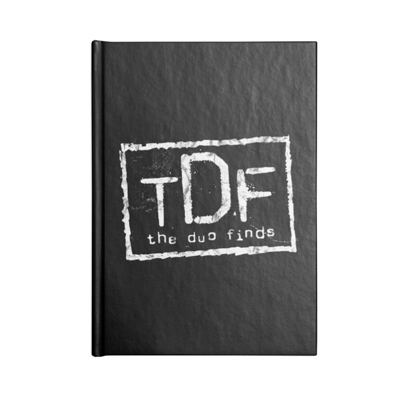 TDF for Life. Spoof. Get it? Accessories Blank Journal Notebook by The Duo Find's Artist Shop