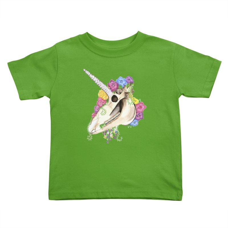 Uniskull Kids Toddler T-Shirt by Dura Mater
